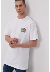 Vans - T-shirt x Spongebob. Okazja: na co dzień. Kolor: czarny. Materiał: dzianina. Wzór: nadruk. Styl: casual