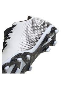 Adidas - Buty piłkarskie korki dla dzieci adidas X Ghosted 4 FG FW6798. Okazja: na imprezę. Zapięcie: pasek. Materiał: syntetyk. Szerokość cholewki: normalna. Wzór: aplikacja. Sport: piłka nożna