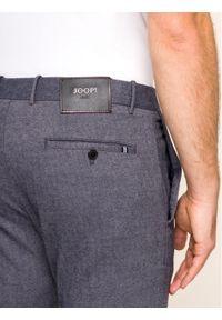JOOP! Jeans - Joop! Jeans Spodnie materiałowe Steen 30017314 Szary Slim Fit. Kolor: szary. Materiał: materiał