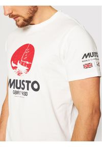 Musto T-Shirt Tokyo 81183 Biały Regular Fit. Kolor: biały #3