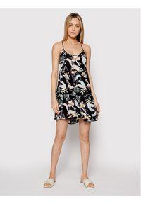 Sukienka letnia Roxy w kolorowe wzory