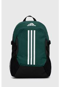 adidas Performance - Plecak. Kolor: zielony. Materiał: poliester