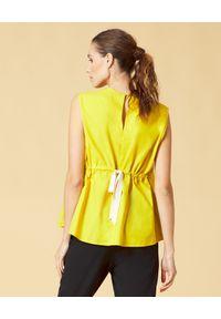 Żółta bluzka Manila Grace