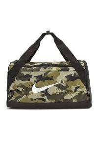 Nike Brasilia Duffel S Camo > BA5433-209. Materiał: materiał, poliester. Sport: fitness