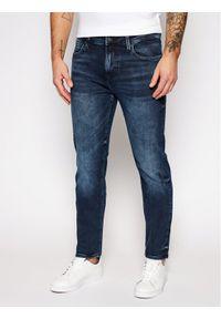 Guess Jeansy Skinny Fit Angels M0BAN2 D4714 Granatowy Skinny Fit. Kolor: niebieski. Materiał: jeans