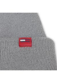 Szara czapka zimowa Tommy Jeans