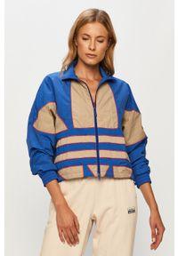Niebieska kurtka adidas Originals bez kaptura