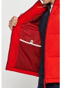 Czerwona kurtka Lacoste z kapturem