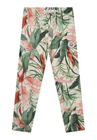 Spodnie dresowe Femi Stories w kolorowe wzory