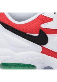 Białe półbuty Nike na co dzień, z cholewką