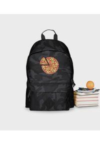 MegaKoszulki - Plecak moro Pizza Text. Materiał: poliester. Wzór: moro