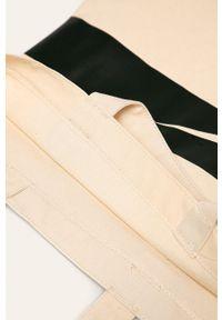 Kremowa shopperka Nike Sportswear duża, z nadrukiem