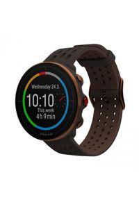 Brązowy zegarek POLAR sportowy