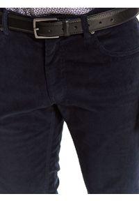 Niebieskie spodnie TOP SECRET długie
