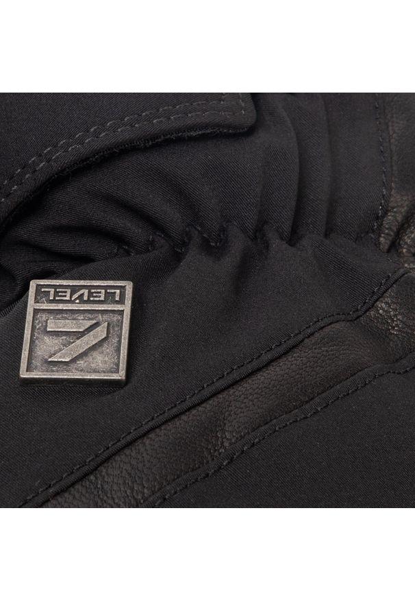 Czarna rękawiczka sportowa Level narciarska, Gore-Tex
