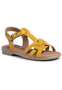 Złote sandały Ricosta