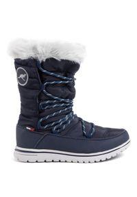 Niebieskie śniegowce KangaRoos na zimę, z cholewką #6