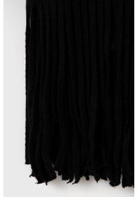 Billabong - Szal. Kolor: czarny. Materiał: dzianina