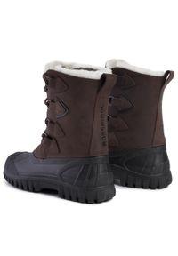 Brązowe buty zimowe Rossignol z cholewką, na co dzień, casualowe