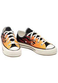 Pomarańczowe trampki Converse