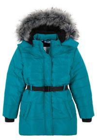Niebieski płaszcz bonprix na zimę #1