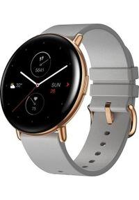 AMAZFIT - Smartwatch Amazfit Zepp E Round Szary (xiaomi_20201027114552). Rodzaj zegarka: smartwatch. Kolor: szary