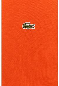 Szara bluza rozpinana Lacoste casualowa, z kapturem, na co dzień #5