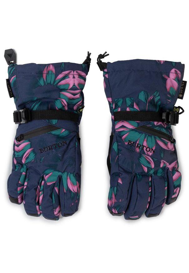 Niebieska rękawiczka sportowa Burton Gore-Tex, narciarska