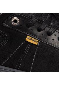 Czarne sneakersy Wrangler