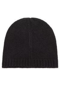 Czarna czapka zimowa Hugo