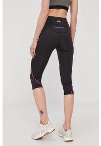 Czarne legginsy 4f gładkie