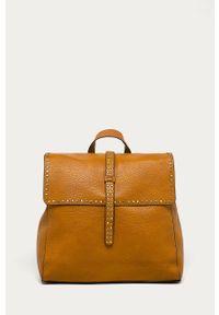 Pomarańczowy plecak Answear Lab wakacyjny