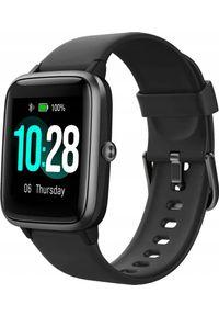 ULEFONE - Smartwatch UleFone Watch Czarny (UF-W/BK ). Rodzaj zegarka: smartwatch. Kolor: czarny