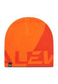 Pomarańczowa czapka zimowa Salewa