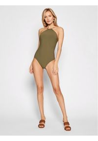 Chantelle Strój kąpielowy Glory C15H40 Zielony. Kolor: zielony