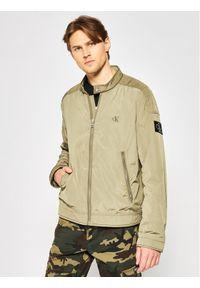 Zielona kurtka przejściowa Calvin Klein Jeans