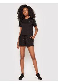 Kappa T-Shirt Inula 309090 Czarny Regular Fit. Kolor: czarny