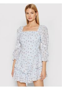 Rinascimento Sukienka letnia CFC0103467003 Niebieski Slim Fit. Kolor: niebieski. Sezon: lato