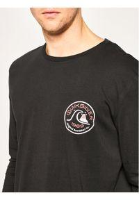 Czarna koszulka z długim rękawem Quiksilver