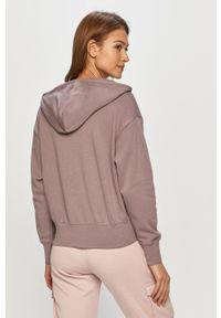 Nike Sportswear - Bluza. Kolor: fioletowy. Materiał: dzianina. Wzór: nadruk