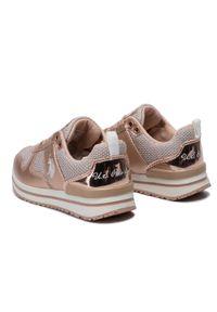 U.S. Polo Assn - Sneakersy U.S. POLO ASSN. - Vema1 WIDA4160W8/TY1 Met Copp. Okazja: na co dzień. Kolor: różowy. Materiał: skóra ekologiczna, materiał, skóra. Szerokość cholewki: normalna. Wzór: aplikacja. Styl: casual