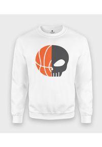 MegaKoszulki - Bluza klasyczna BasketSkull. Styl: klasyczny
