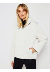 Biała kurtka przejściowa Rains