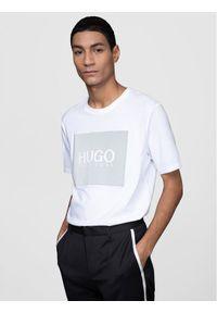 Hugo T-Shirt Dolive211 50442929 Biały Regular Fit. Kolor: biały