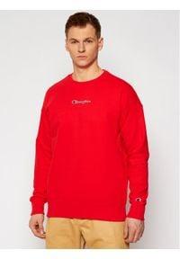 Champion Bluza Crewneck 214197 Czerwony Regular Fit. Kolor: czerwony