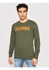 Jack&Jones PREMIUM Bluza Bluterence 12183539 Zielony Regular Fit. Kolor: zielony