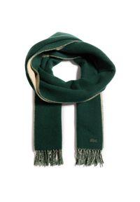 Zielony szalik Lacoste