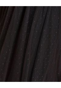 NEEDLE & THREAD - Czarna spódnica z tiulu. Okazja: na co dzień. Kolor: czarny. Materiał: tiul. Wzór: aplikacja. Styl: sportowy, klasyczny, elegancki, casual