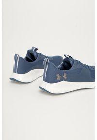 Under Armour - Buty Charged Aurora. Nosek buta: okrągły. Zapięcie: sznurówki. Kolor: niebieski. Materiał: materiał, guma. Sport: bieganie