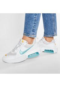 Białe półbuty Nike eleganckie, z cholewką